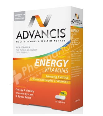 Advancis Energy Multivitamin & Mineral