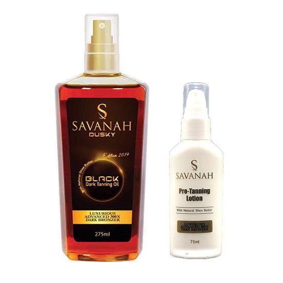 Savanah Dusky Dark Tanning Oil