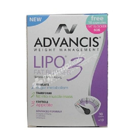 Advancis Lipo 3 fat burner