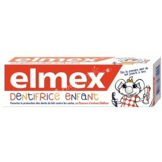 Elmex Dentefrice Enfant Toothpaste