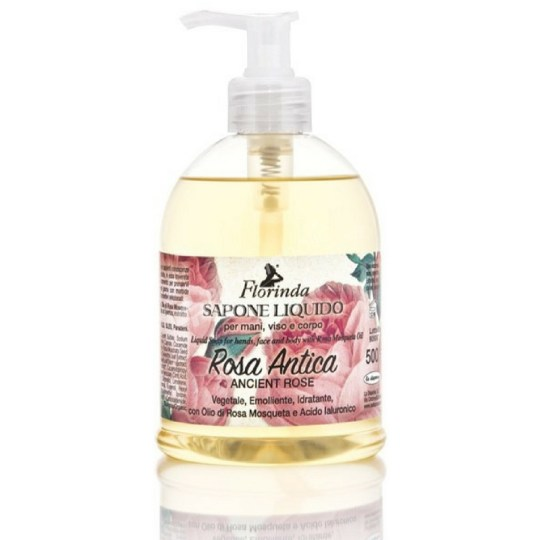 Florinda Liquid Soap Ancient Rose