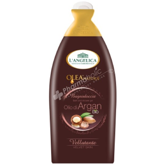 L'Angelica Olea Naturae Bath and Shower Gel with Argan Oil