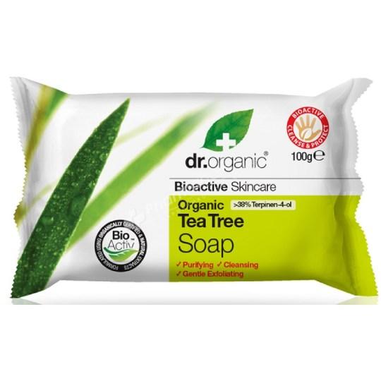 Dr.Organic Organic Tea Tree Soap