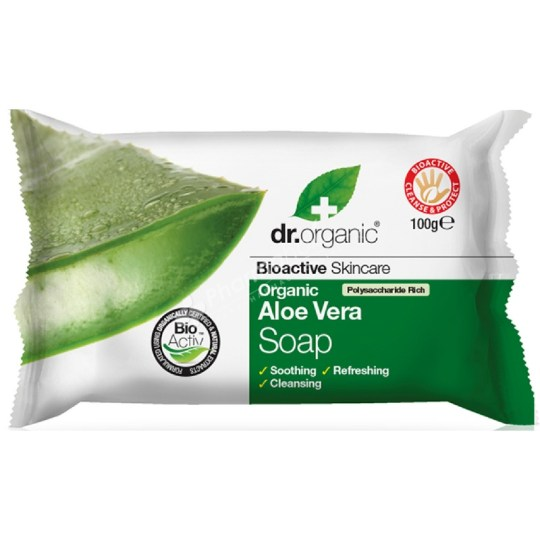 Dr.Organic Organic Aloe Vera Soap