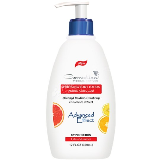 Correction Whitening Body Lotion Citrus Shimmer