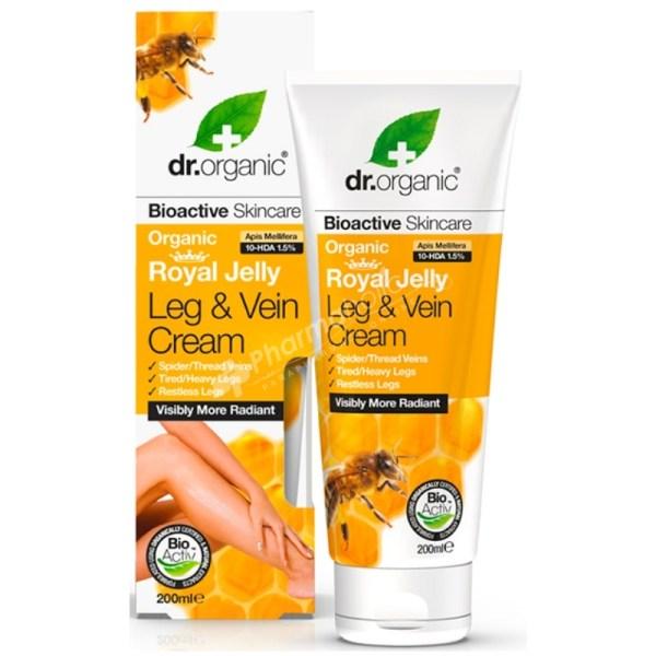 Dr.Organic Organic Royal Jelly Leg and Vein Cream