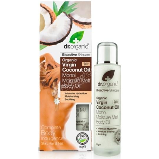 Dr. Organic Virgin Coconut Oil Moisture Melt Body Oil