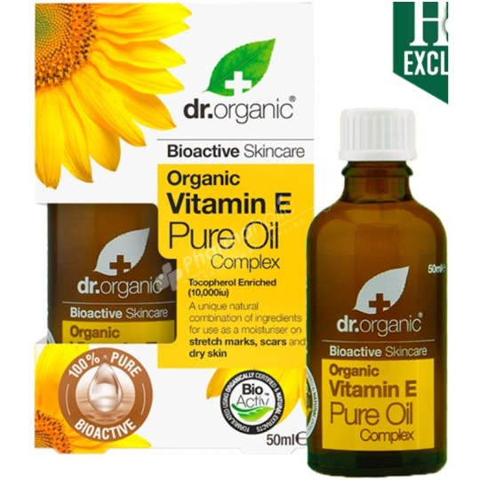 Dr.Organic Organic Vitamin E Pure Oil Complex