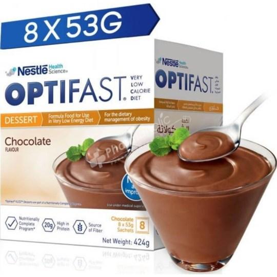 Optifast Dessert Chocolate Flavour