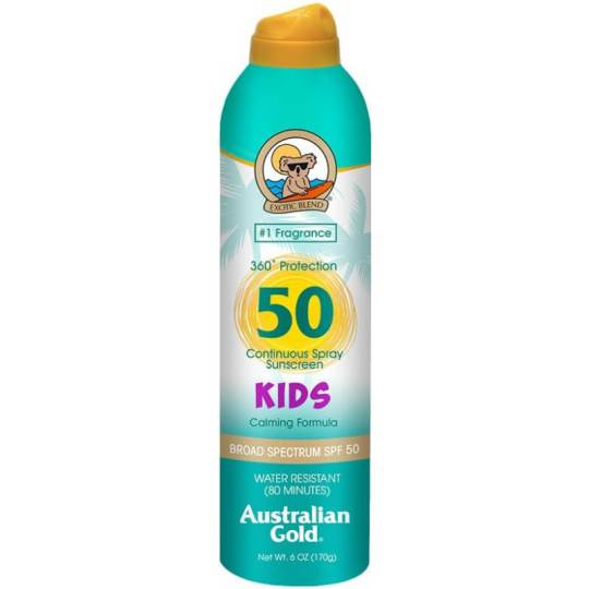 Australian Gold Kids Sunscreen Continuous Spray