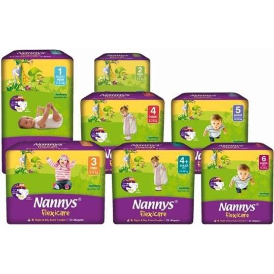 Nannys Flexicare Diapers