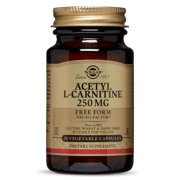 Solgar Acetyl L-Carnitine 250mg