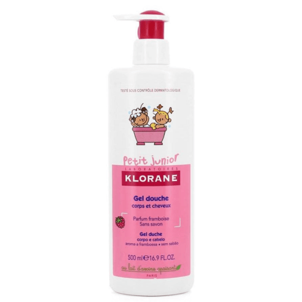 Klorane Petit Junior Shower Gel Raspberry