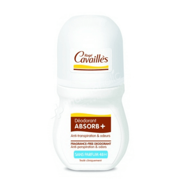 Roge Cavailles Absorb Fragrance-Free 48H Roll-on 50ml