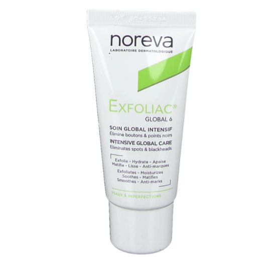 Noreva Exfoliac Global 6 Intensive Global Care 30ml
