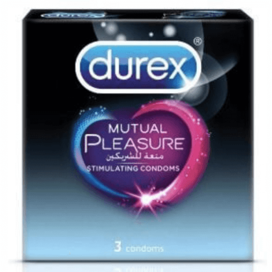 Durex Mutual Pleasure 3 Condoms