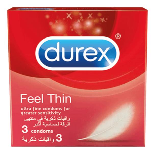 Durex Feel Thin 3 Condoms