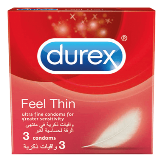 Durex Feel Thin 3 Condoms