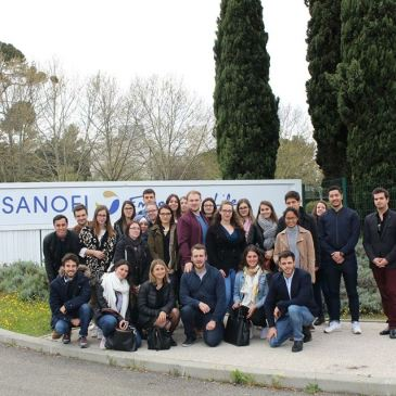 Visite de Sanofi Montpellier