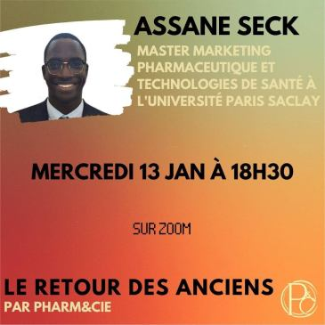 Retour des Anciens : Présentation du Master Marketing Pharmaceutique de l'université de  Paris Saclay