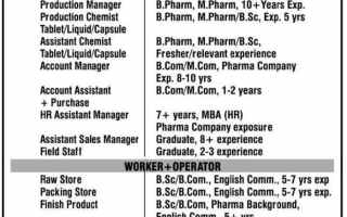 QC,QA,Production,Accounts,Purchase,HR,Stores Openings at HOF Pharmaceuticals Ltd