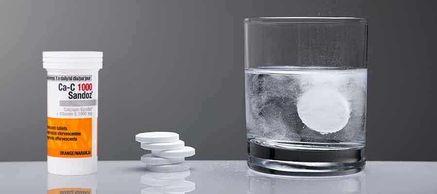 Image of effervescent tablets