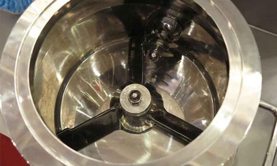 Impeller and chopper design of Rapid mixer granulators