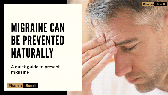 Migraine can be prevented & cured without medication
