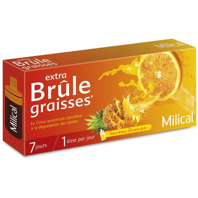 Milical Extra Br 251 Le Graisses Saveur Ananas 7 Doses