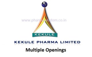 KEKULE PHARMA LIMITED – Urgent Requirement of Senior Positions for Regulatory Affairs / ETP / Maintenance – Apply Now