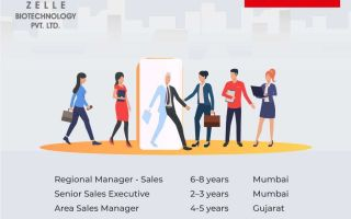 Zelle Biotechnology – Hiring Regional Sales Manager / Senior Sales Executive / Area Sales Manager / Field Application Specialist