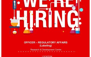 Glenmark Pharmaceutical Ltd is Hiring for Officer – Regulatory Affairs