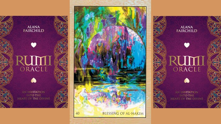 RUMI ORACLE CARD BLESSING OF AL-HAKIM
