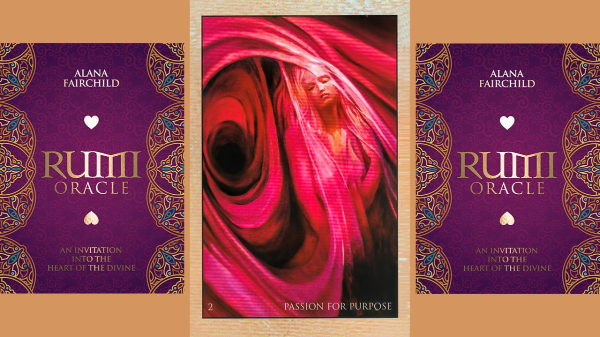 RUMI ORACLE CARD - PASSION FOR PURPOSE