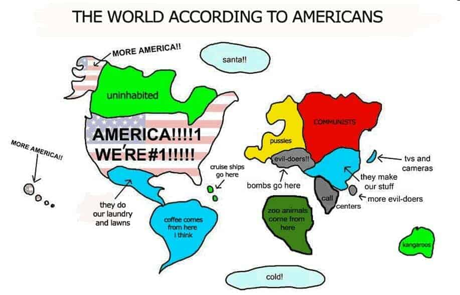 world accordign to usa2