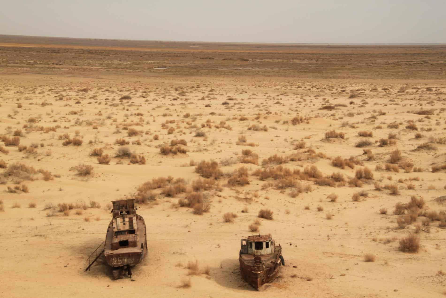 Moynaq Aral Sea Ships