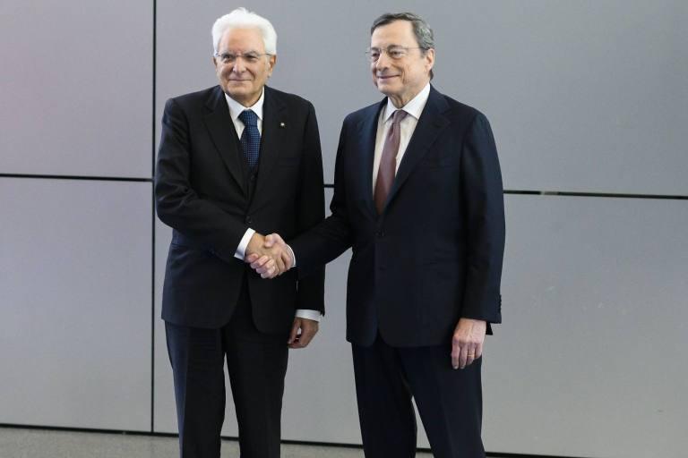 Draghi Mattarella