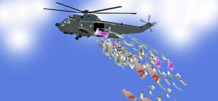 Helicopter Money Drop