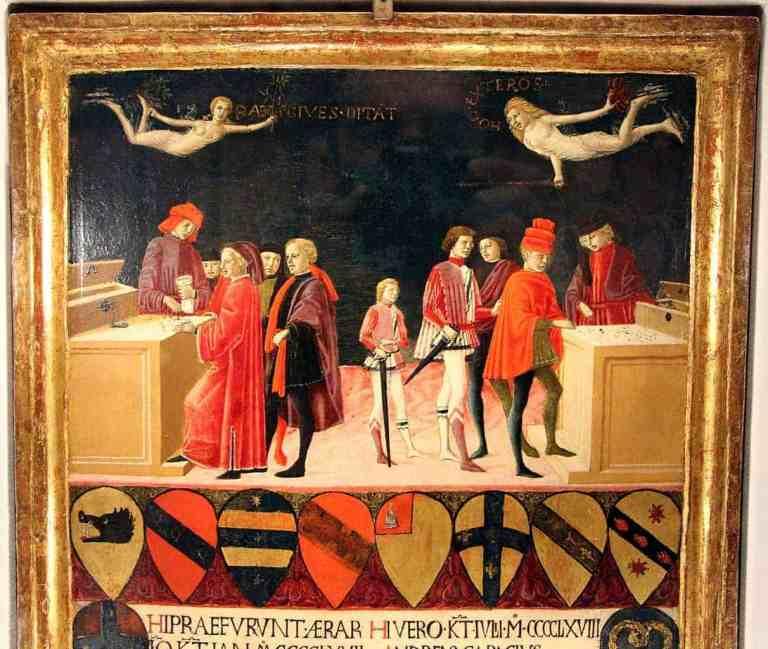Benvenuto Di Giovanni, Finanze del comune in tempo di pace e in tempo di guerra (1468)
