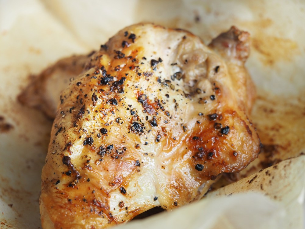 Lemon Herb Roasted Chicken Breasts