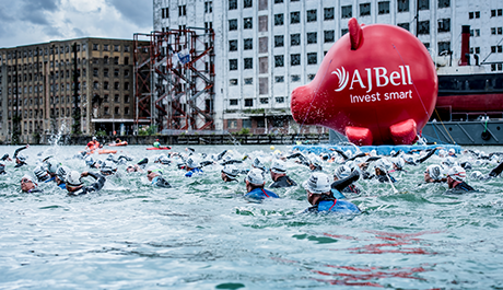 London Triathlon Swim