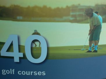 40 gold courses