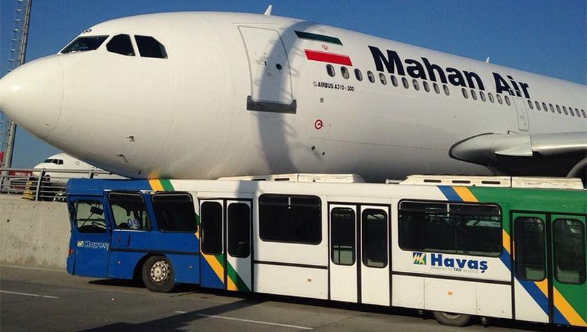 mahan air crash in turkey