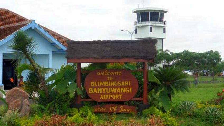 Buka Rute Baru, Bandara Blimbingsari Benahi Landasan Pacu