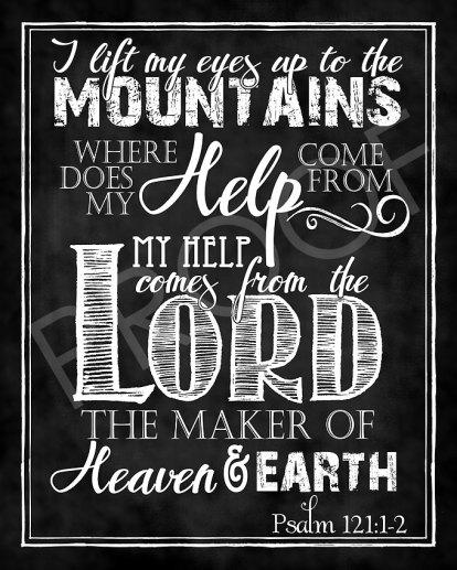 Psalm 121.1 2