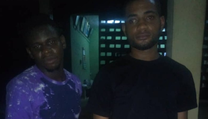 police arrest two suspects recover arms and others in anambra 1