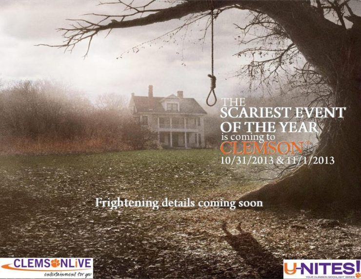 Campus-wide email promoting the film The Conjuring, sent with no accompanying text.