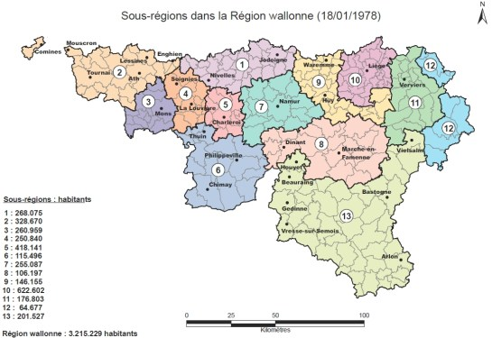 Source : Archives de l'Institut Destrée, Fonds Jacques Hoyaux, Réforme de l'Etat 1978-1979, Egmont-StuyvenbergRéalisation DGO4 (Pascal Maes) - Institut Destrée