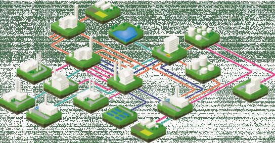 A circular ecosystem of economy