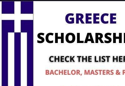 List of Top 5 Greece Scholarships 2021